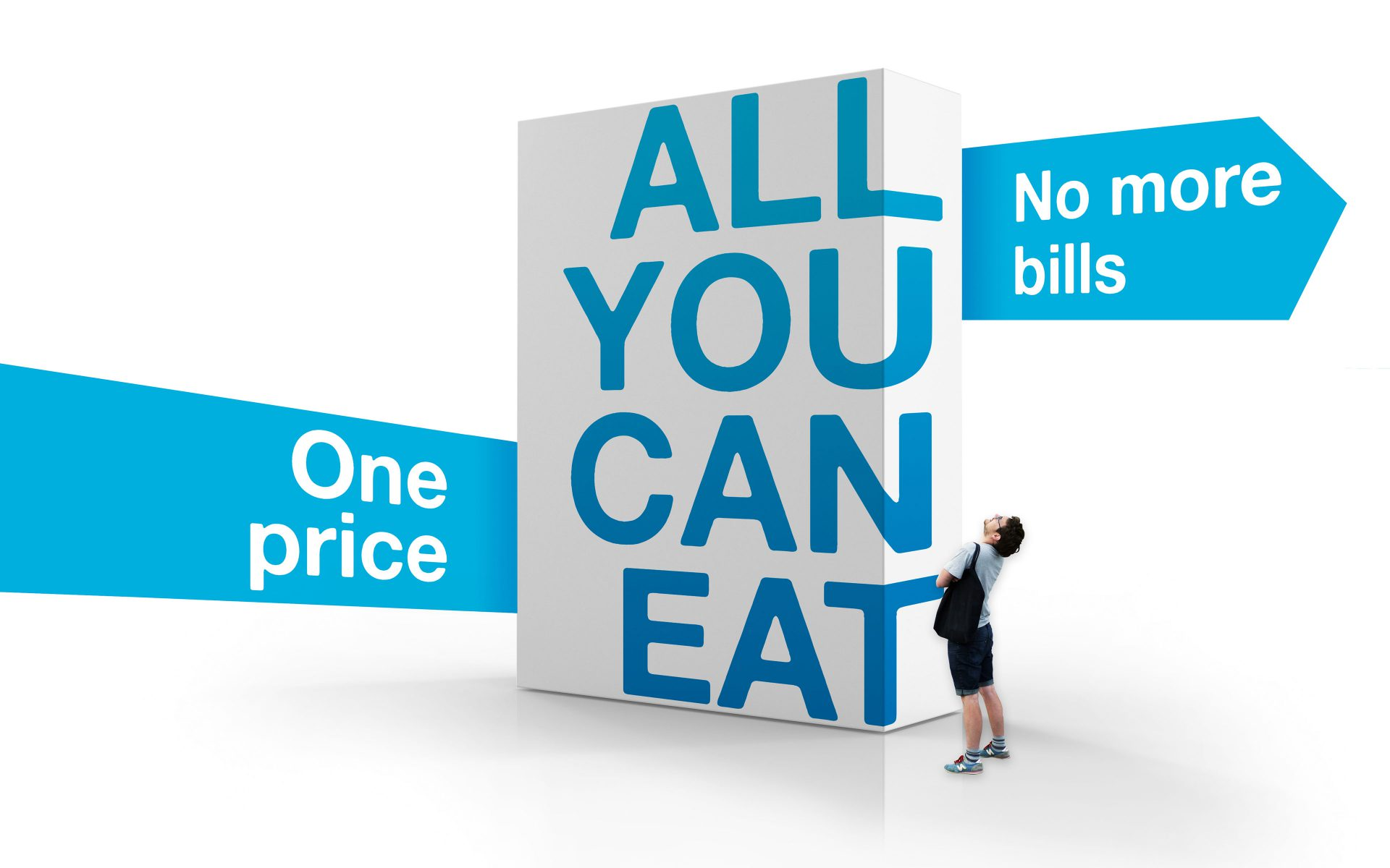 Sumo all you can eat campaign visual by Differ brand agency