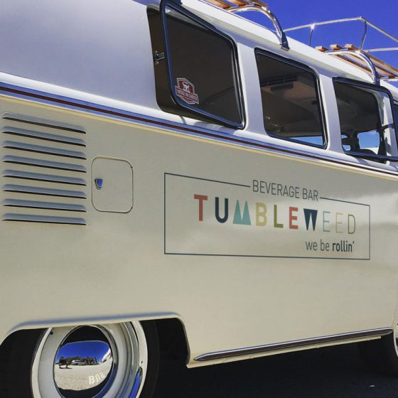 Tumbleweed NZ beverage bar and food WW van