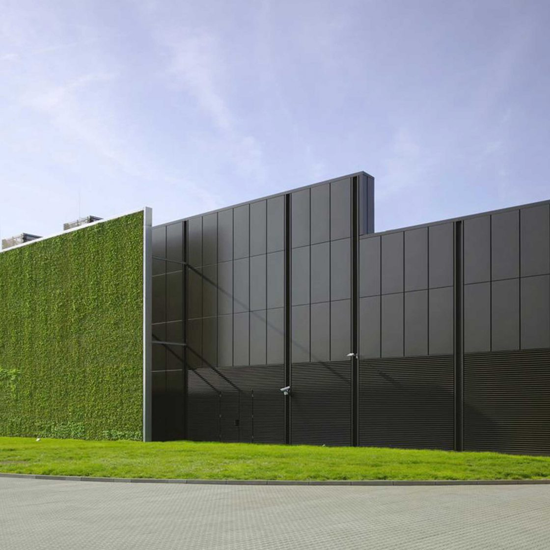 ARUP GLOBAL vertical garden on building