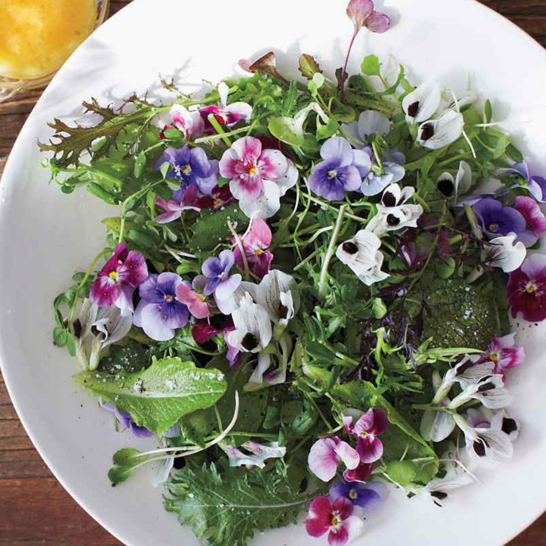 Eden Valley Artisans floral salad