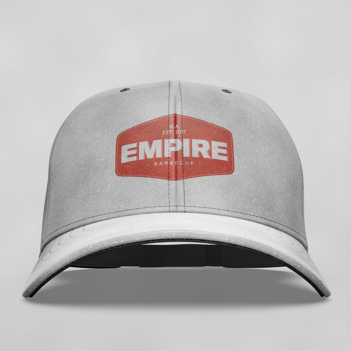 Empire BBQ brand logo on cap