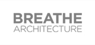 Breathe architecture greyscale logo